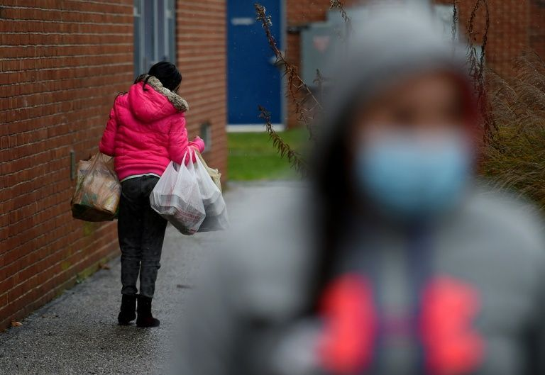 Pandemic sends hunger rising in America, and children bear the brunt