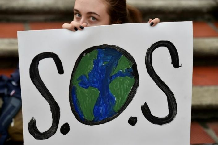 A global protest movement has emerged calling for greater urgency to tackle climate change. Photo: AFP