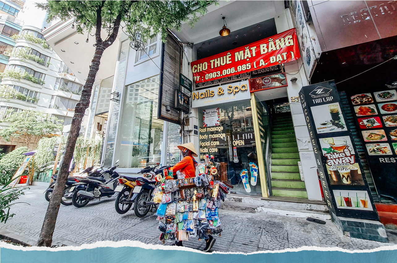A hotel in HCMC's District 1 is on lease.