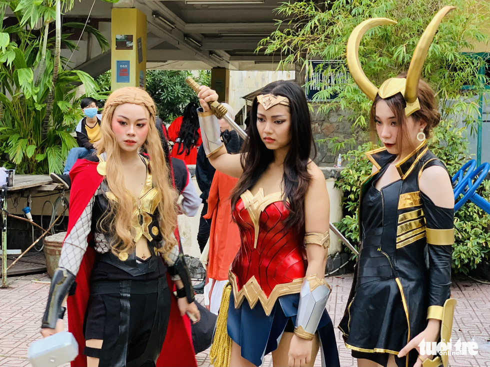 Ho Chi Minh City youth participate in cosplay competition