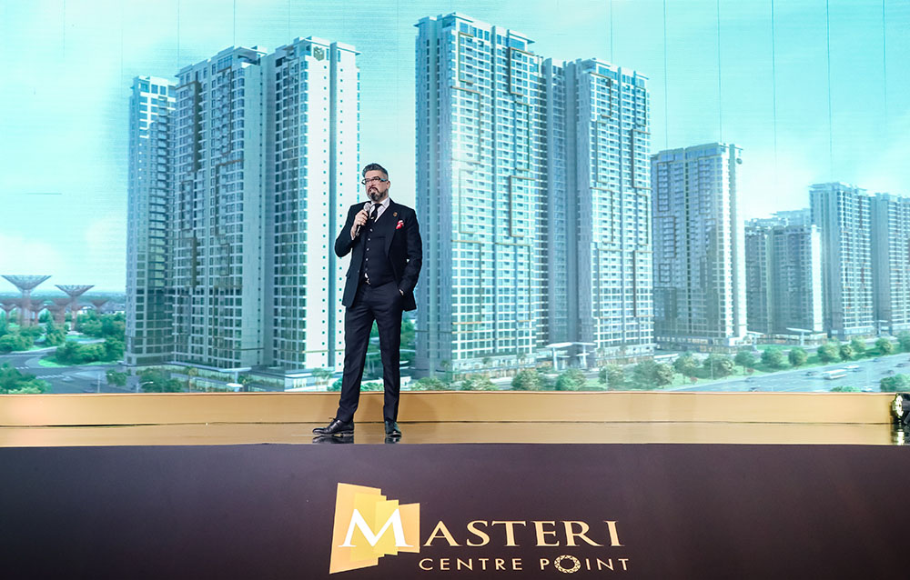 Masterise Homes also used this event as an opportunity to introduce the special financial packages in place for buyers of the project, including free interest for the first 30 months and free management fees for five consecutive years.