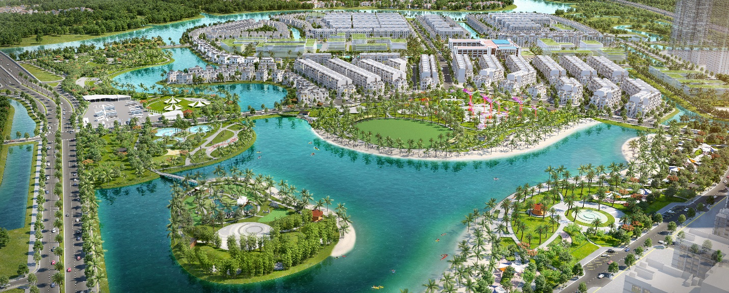 District 9 is even more attractive with the addition of Vinhomes Grand Park.