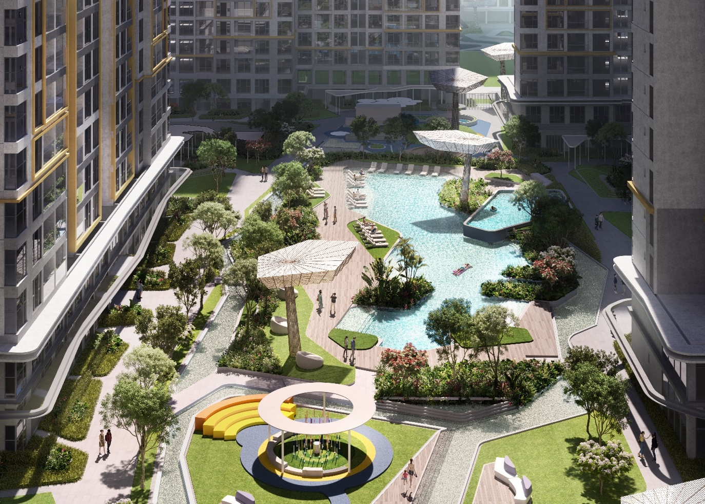 Masteri Centre Point inherits the entire facilities ecosystem of the megadevelopment while maintaining its own set of exclusive amenities.