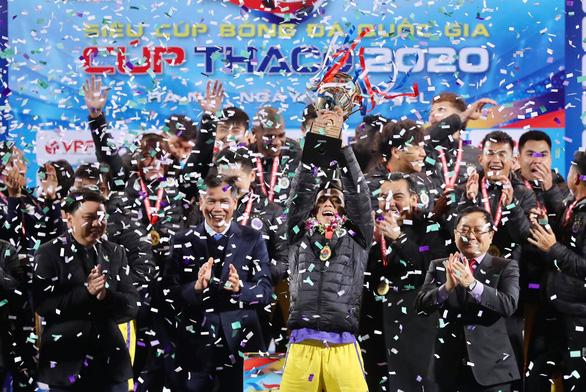 Hanoi FC claim 2020 Super Cup title
