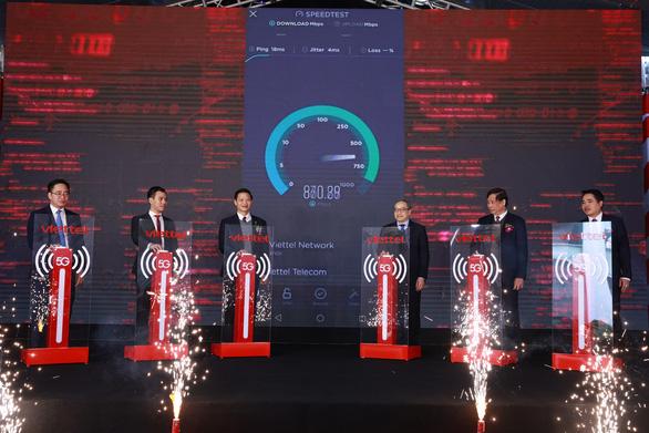Viettel launches 5G network at industrial park in northern Vietnam