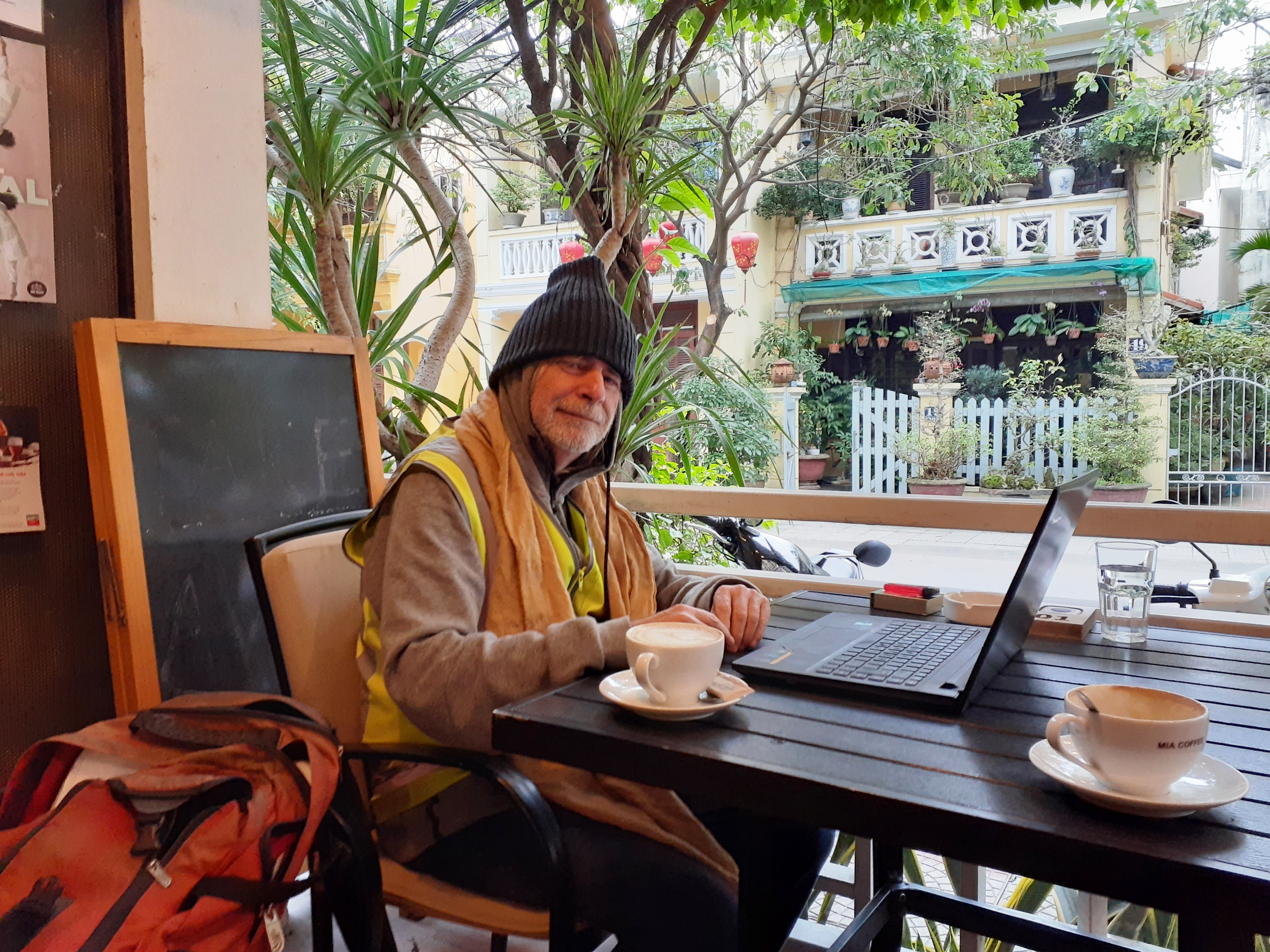 Is it cold enough for you in Vietnam?