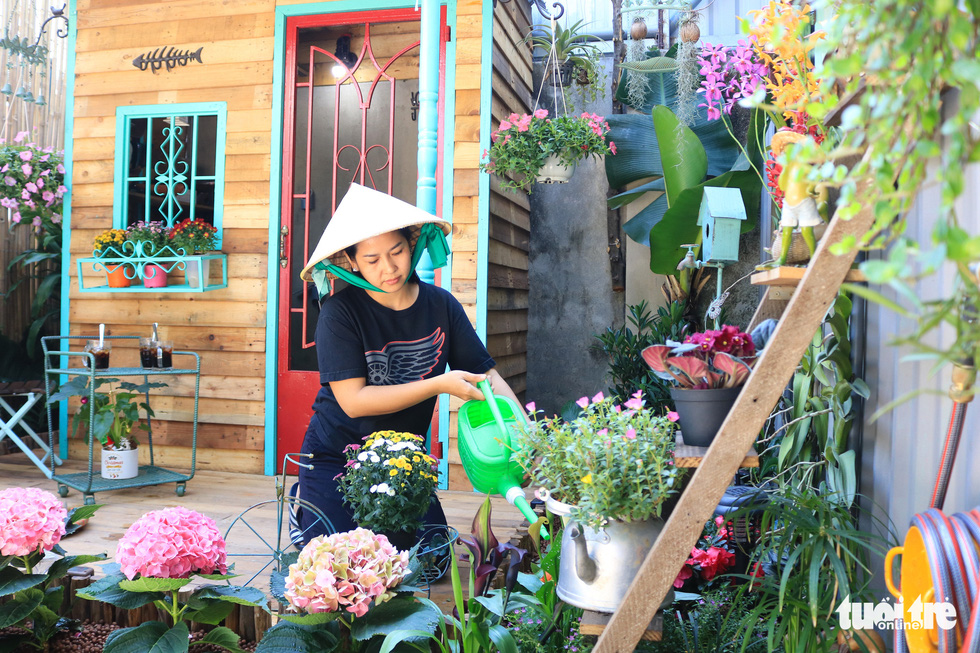 A mini garden for a slow life in the heart of busy Ho Chi Minh City