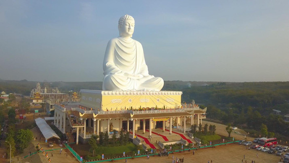 Vietnam's tallest Buddha statue inaugurated in Binh Phuoc