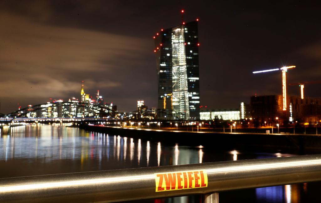 Nine euro zone banks eat into capital buffers during pandemic: ECB