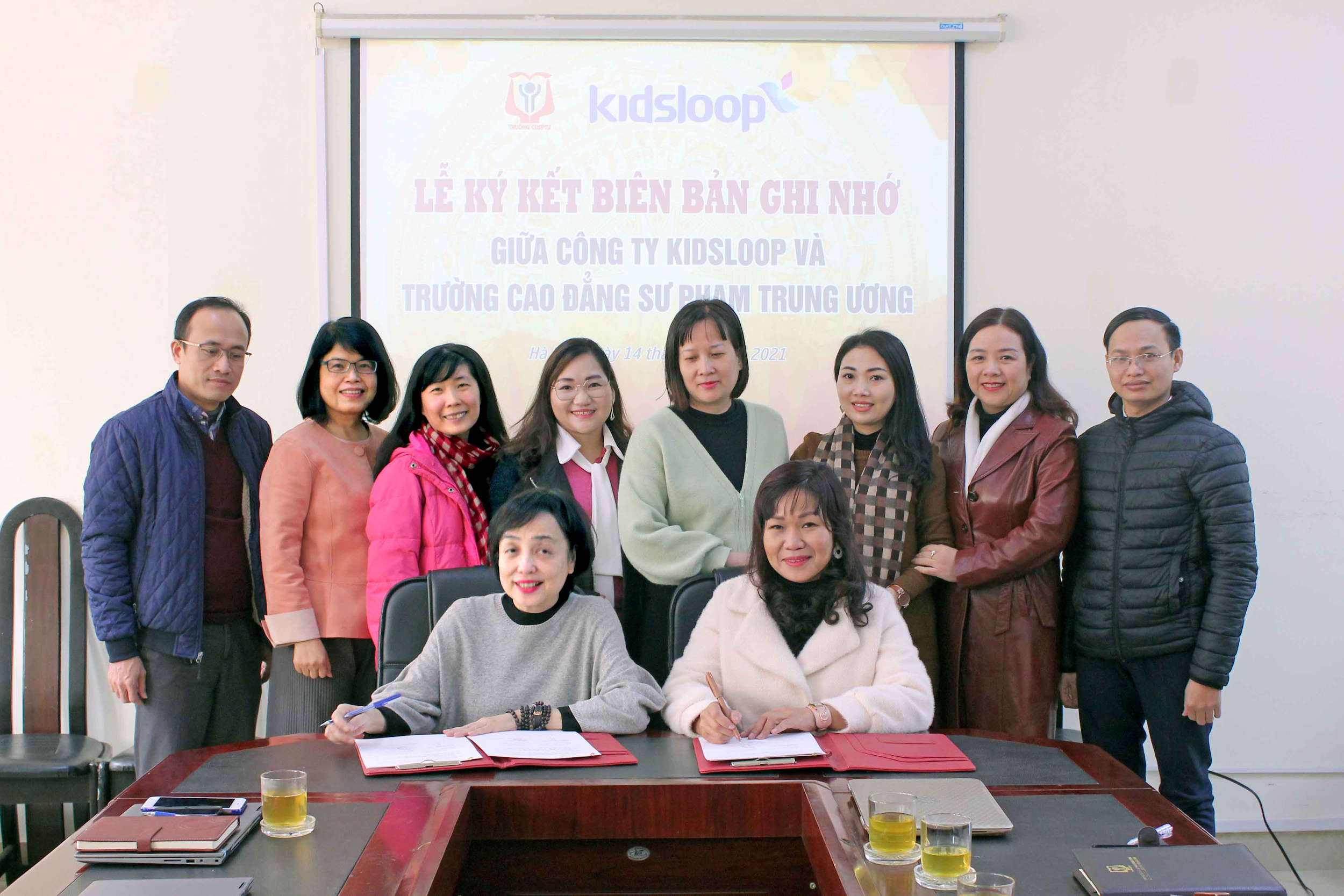 KidsLoop, National College for Education in strategic partnership to promote digital transformation in early education