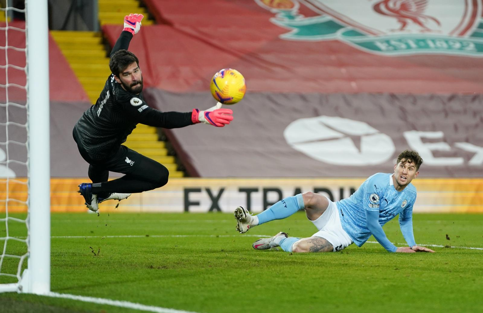Man City thrash Liverpool as Alisson suffers nightmare afternoon