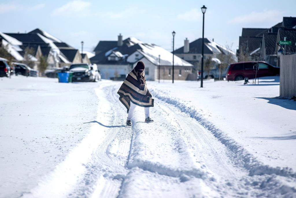 Freak cold in Texas has scientists discussing whether climate change is to blame
