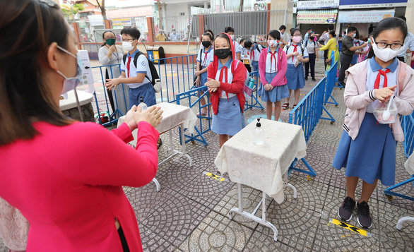 Many schools in Vietnam to resume classroom learning earlier than planned