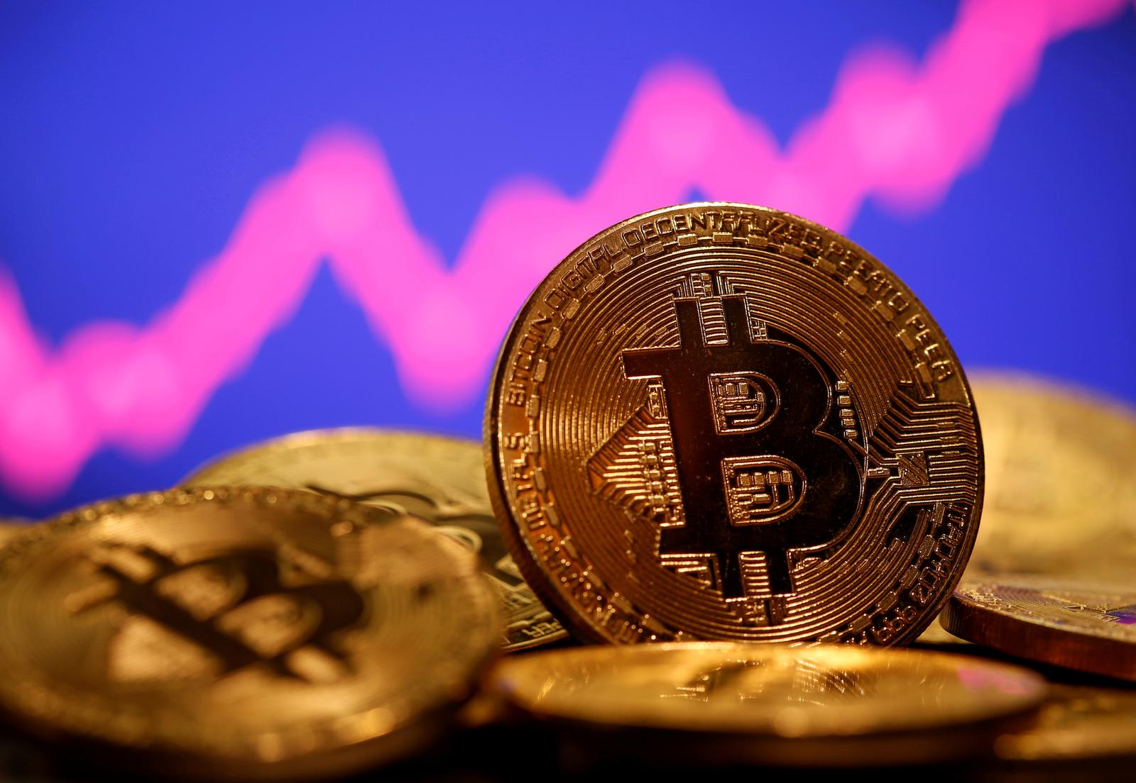 Bitcoin battles for support at $50,000