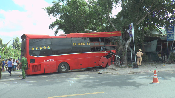 Three dead as long-haul bus collides with cyclists in southern Vietnam