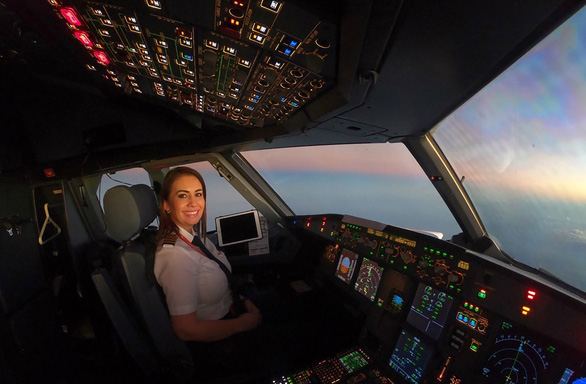 Meet the women who fly for Vietnam's private airline
