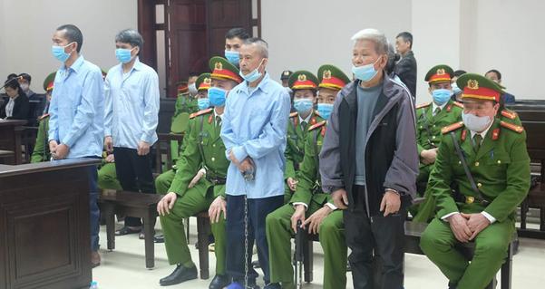 Vietnam court upholds death penalties for defendants who killed 3 policemen