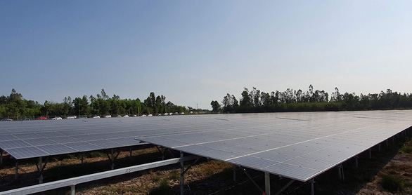 Vietnam province inaugurates $30mn solar energy plant