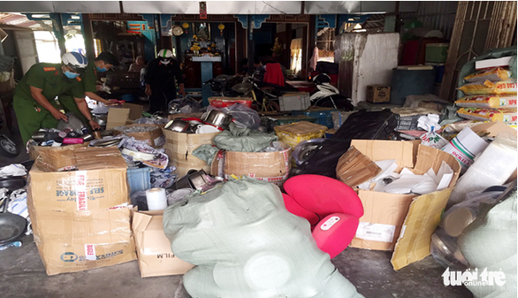Criminal prevention official booked as contraband found at home in southern Vietnamese province
