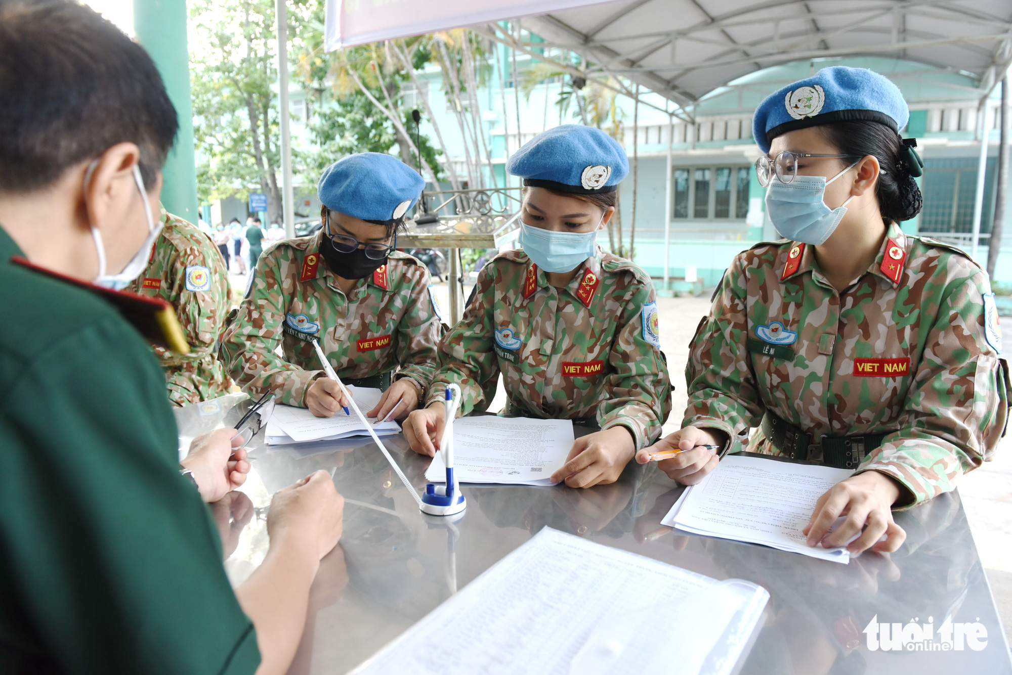 Vietnamese soldiers administered COVID-19 vaccine prior to UN peacekeeping mission in South Sudan