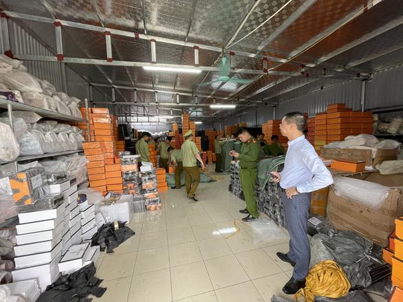 Truckloads of fake designer bags seized in warehouse raid in Vietnam
