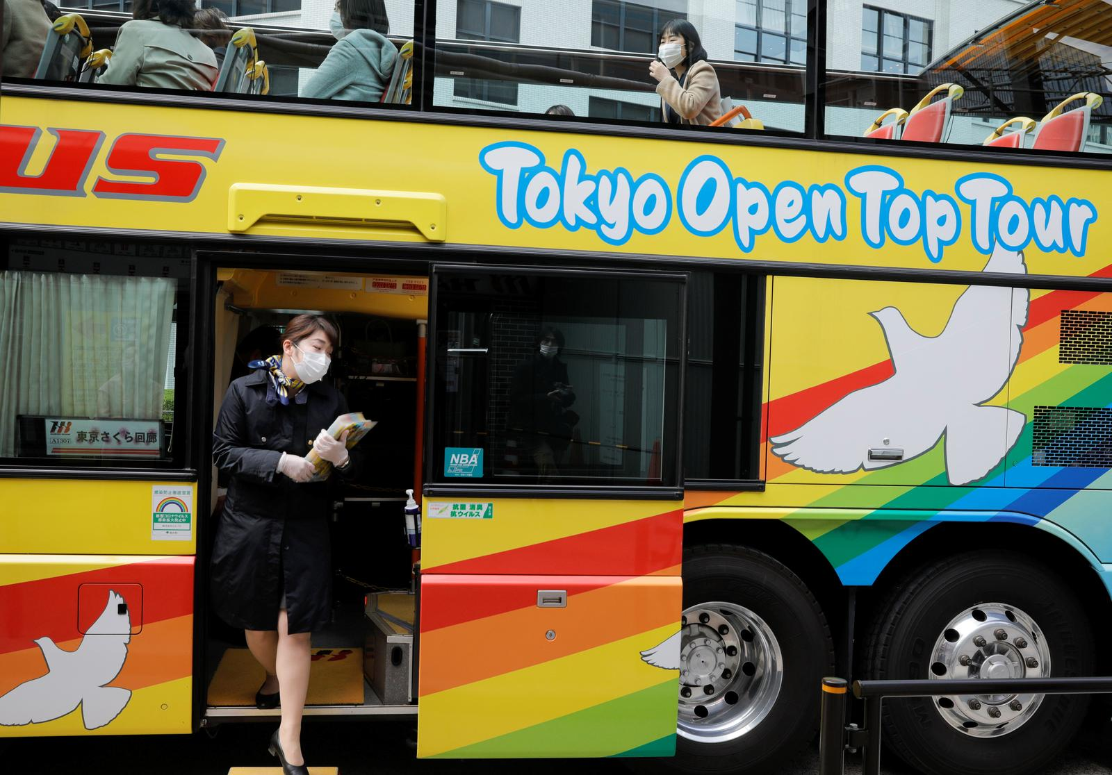 Tokyo tour bus operation restarts as state of emergency lifted