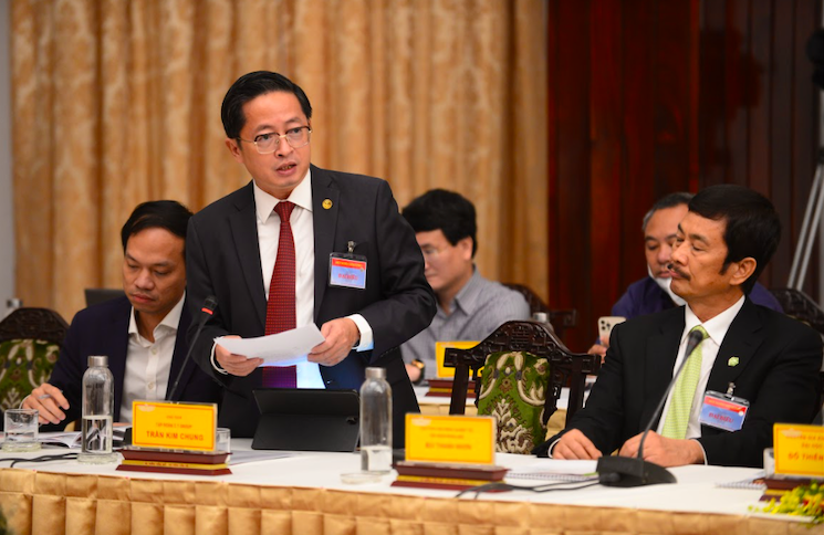Focusing on investment in young generation: board chairman of C.T Group Tran Kim Chung