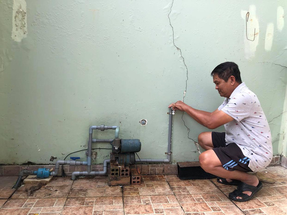 Thu Duc City, 4 districts in Saigon to have water supply cut, lowered for maintenance