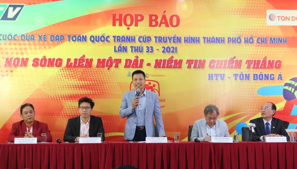 Ho Chi Minh City TV to organize 'Tour de Vietnam' cycling race next month