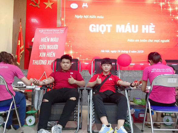 In Vietnam, 'rare blood club' members a 'lifebuoy' for needy patients