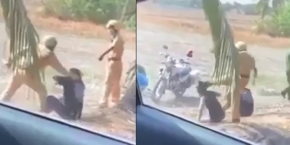 Ho Chi Minh City police officers admit temper tantrum over illegal racers' profanity
