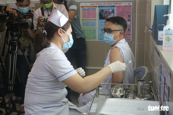 Number of people vaccinated against COVID-19 rises past 46,000 in Vietnam