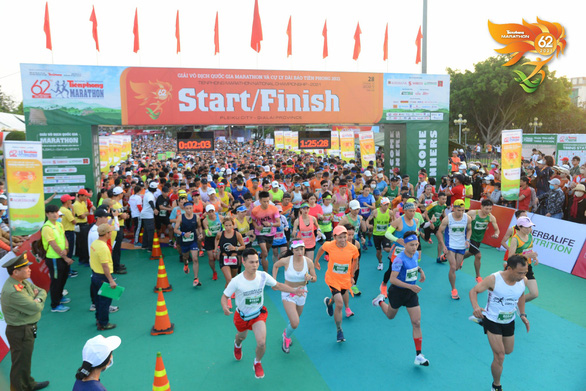 Vietnamese woman stripped of half-marathon championship for asking man to run for her