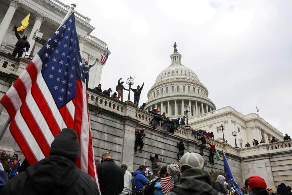 Two Capitol Police officers sue Trump over Jan. 6 riots