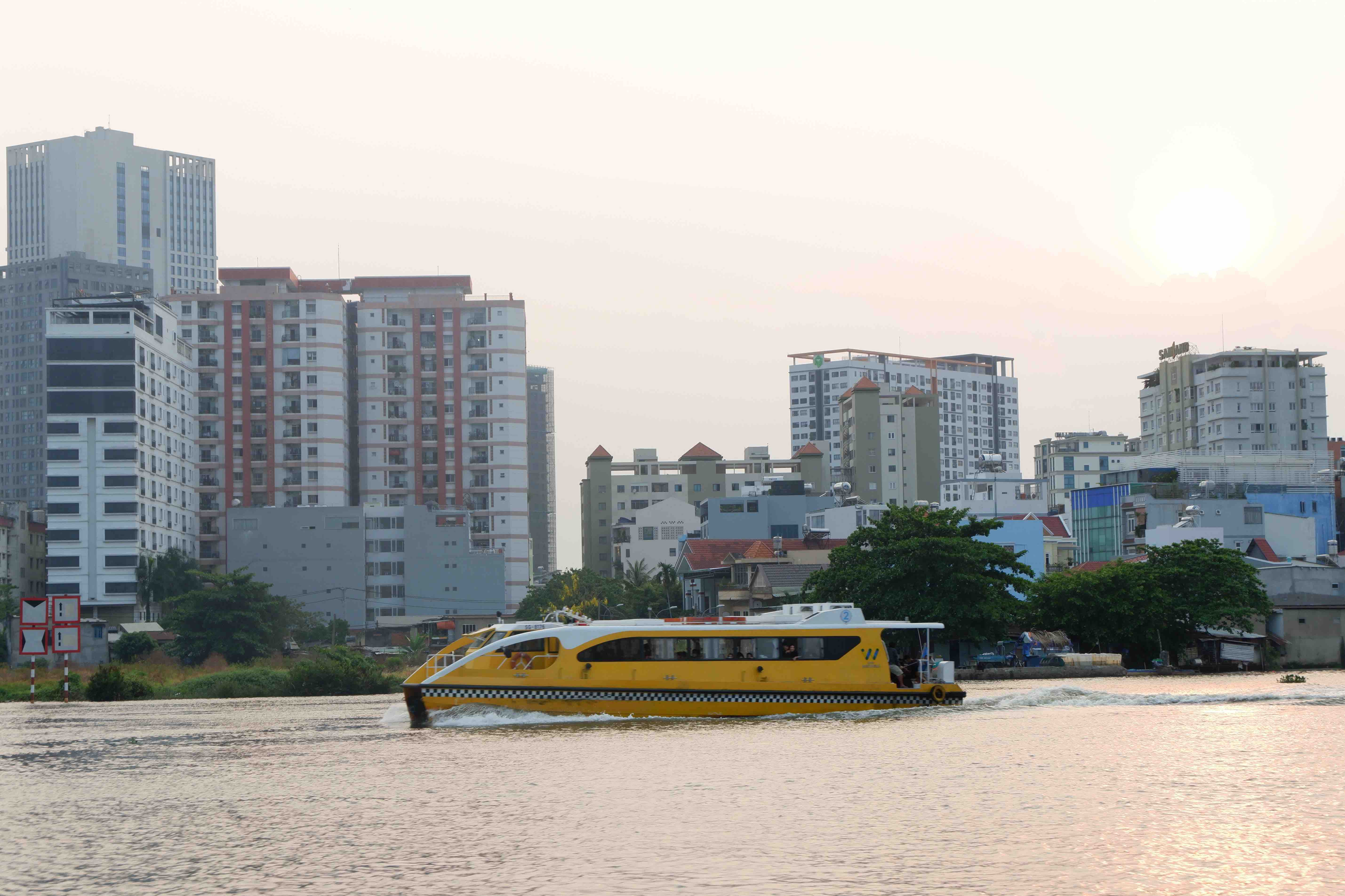 I took a cruise through Saigon by waterbus, and I was not disappointed