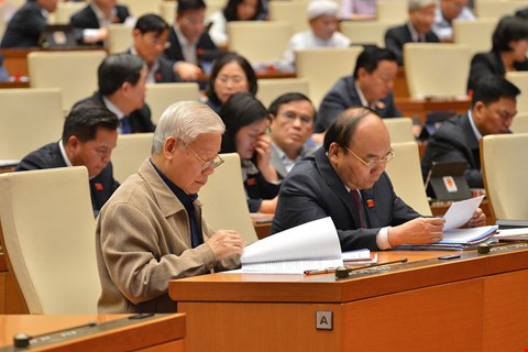 Vietnam's National Assembly relieves Prime Minister Nguyen Xuan Phuc