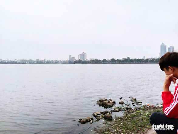A corner of the West Lake in Hanoi, Vietnam. Photo: H.Q. / Tuoi Tre