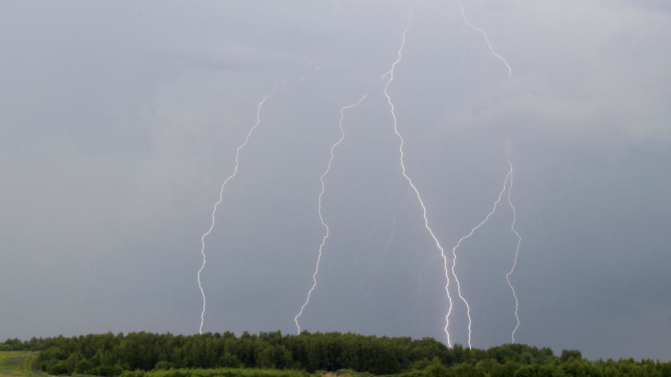 Lightning strikes to spark more Arctic fires: study