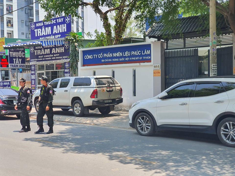 The headquarters of Phuc Lam Petro JSC in Ho Chi Minh City. Photo: Minh Hoa / Tuoi Tre