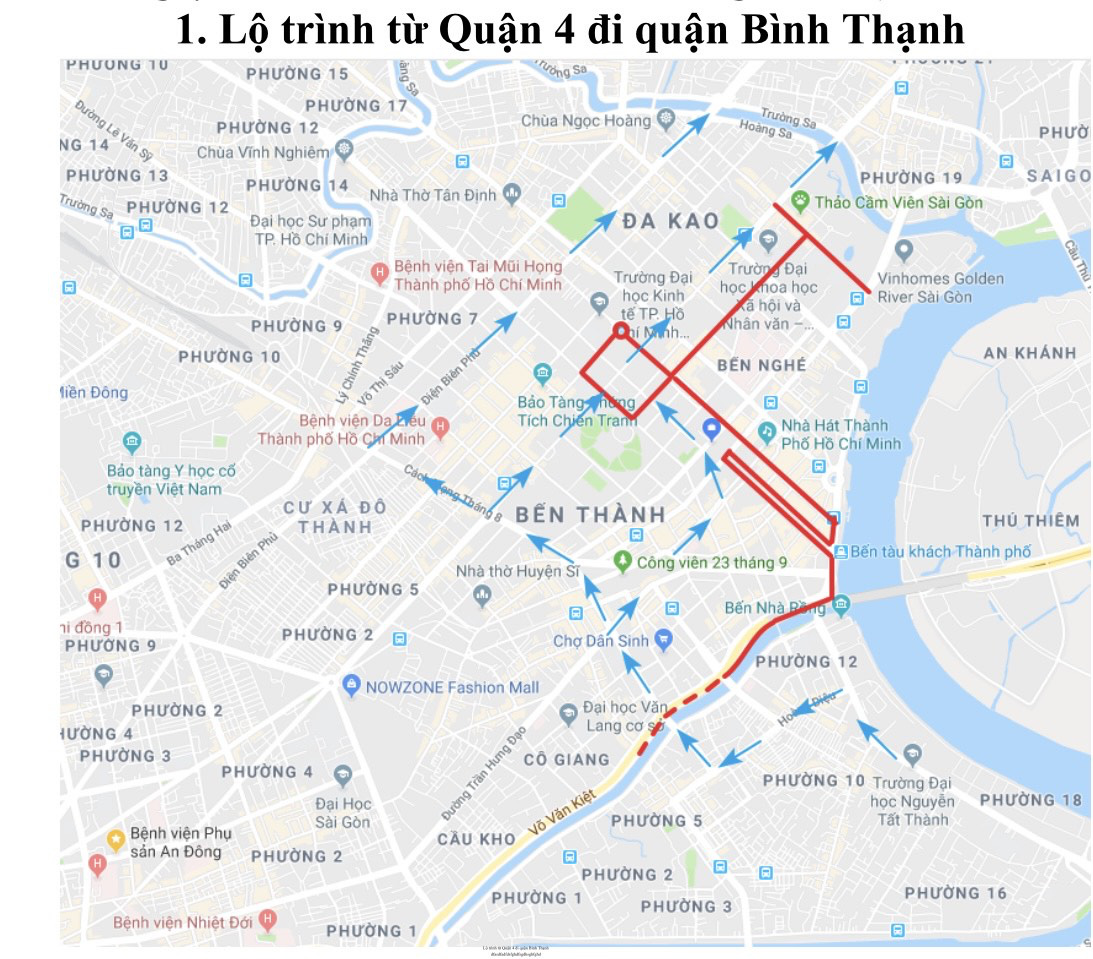 Ho Chi Minh City to ban vehicles from downtown streets for marathon race this weekend