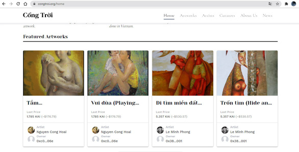 Vietnam's first homegrown NFT marketplace launched