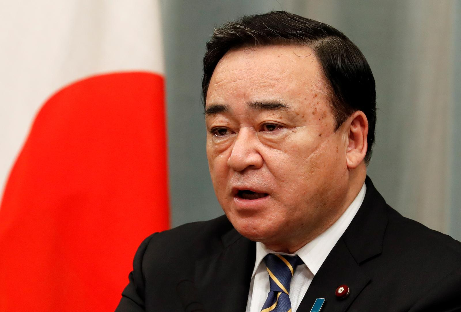 Japan industry minister denies raising 2030 emissions reduction target to 45%