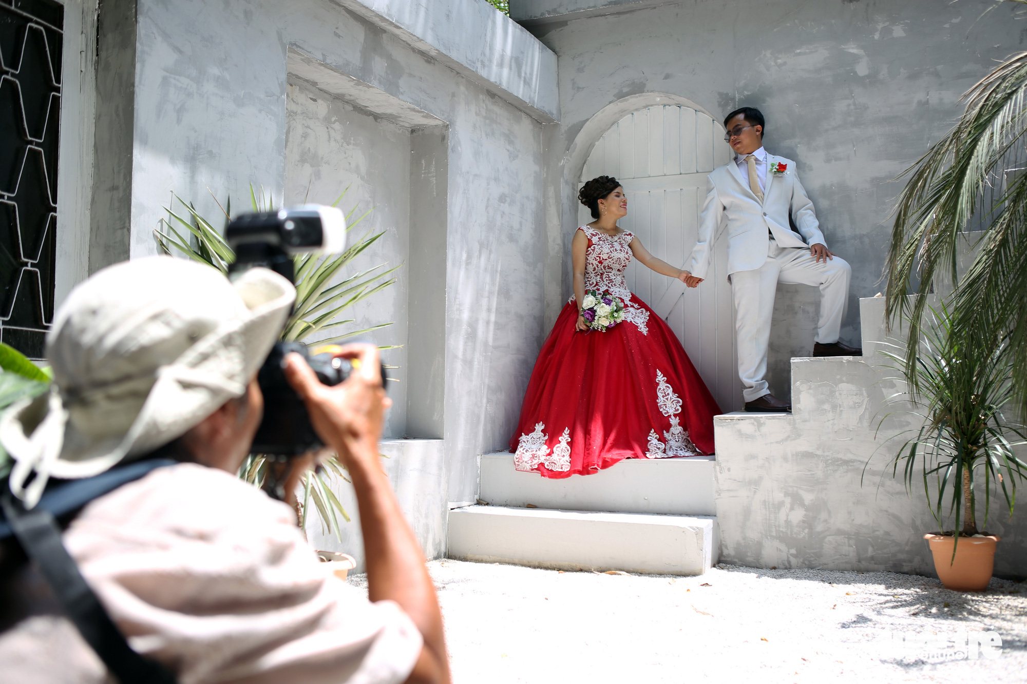 These Vietnamese photographers offer free pre-wedding photoshoots for disabled couples