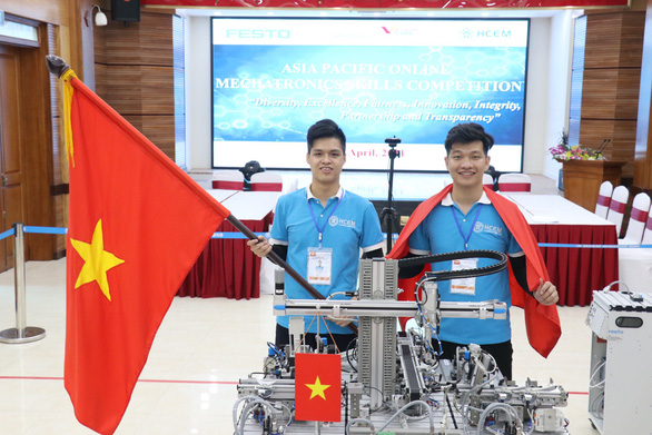 Vietnamese students win gold at regional skill competition
