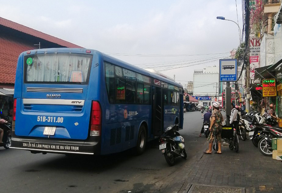 Ho Chi Minh City suspends, fines bus attendant for refusing to serve passenger with disabilities