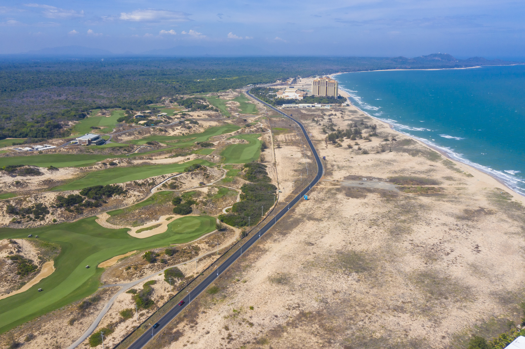 A golf course is being constructed in Vietnam. Photo: Quang Dinh / Tuoi Tre
