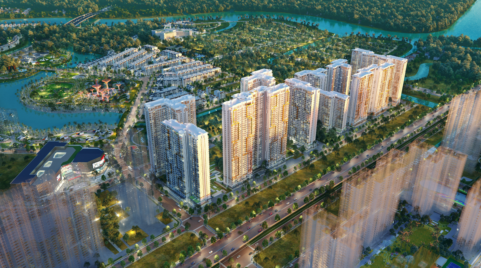 Masteri Centre Point is the pioneer luxury lifestyle project in the new Thu Duc City under Ho Chi Minh City.