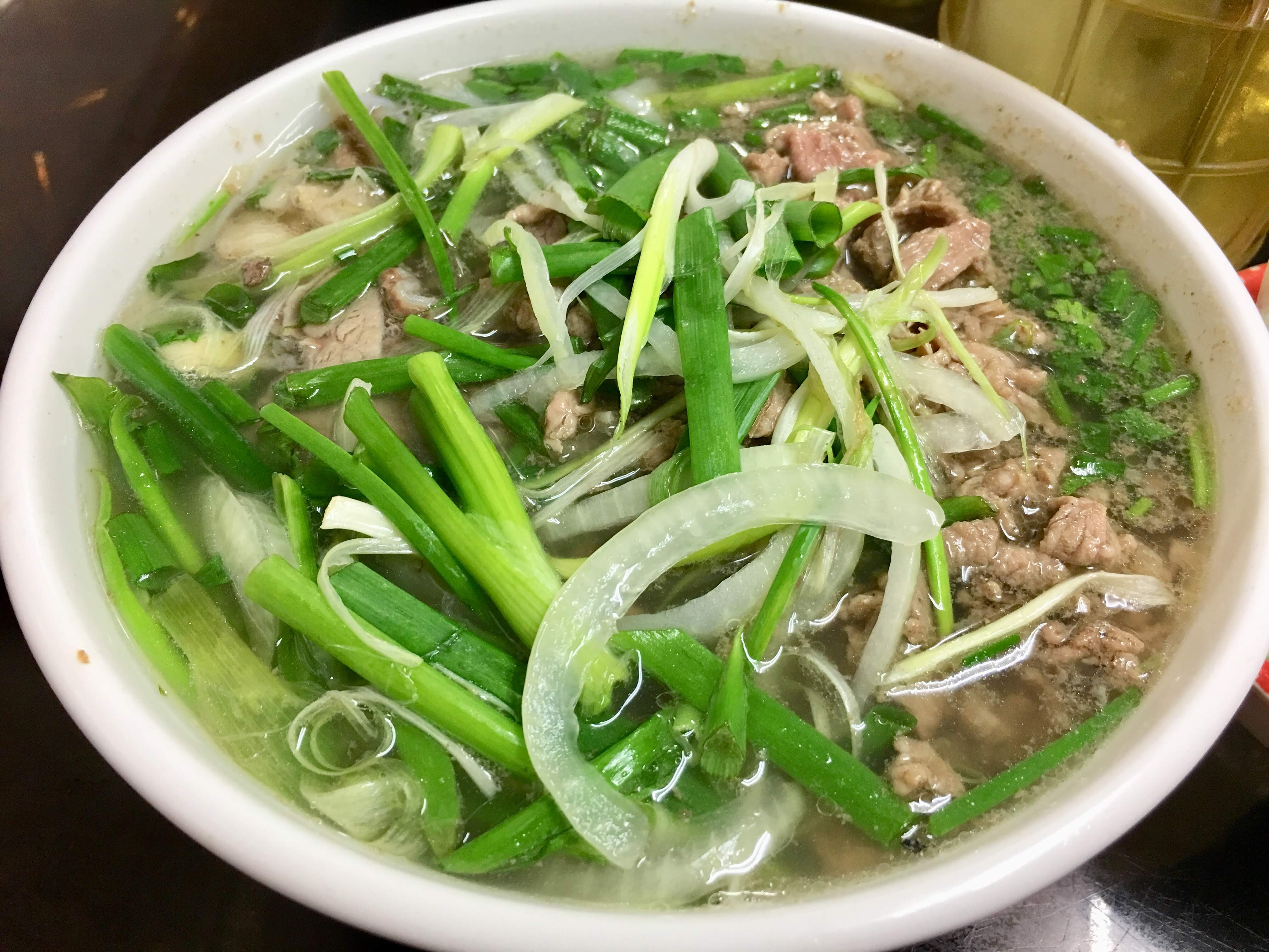 An illustration photo shows northen-style pho is served at a restaurant on Ly Chinh Thang Street in District 3, Ho Chi Minh City, Vietnam. Photo: Dong Nguyen / Tuoi Tre News