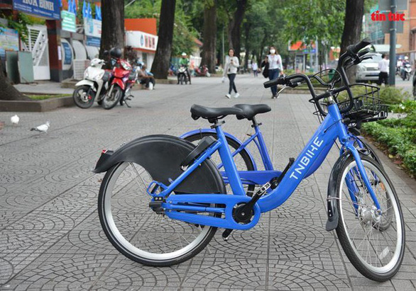 Ho Chi Minh City tests public bicycle service in District 1