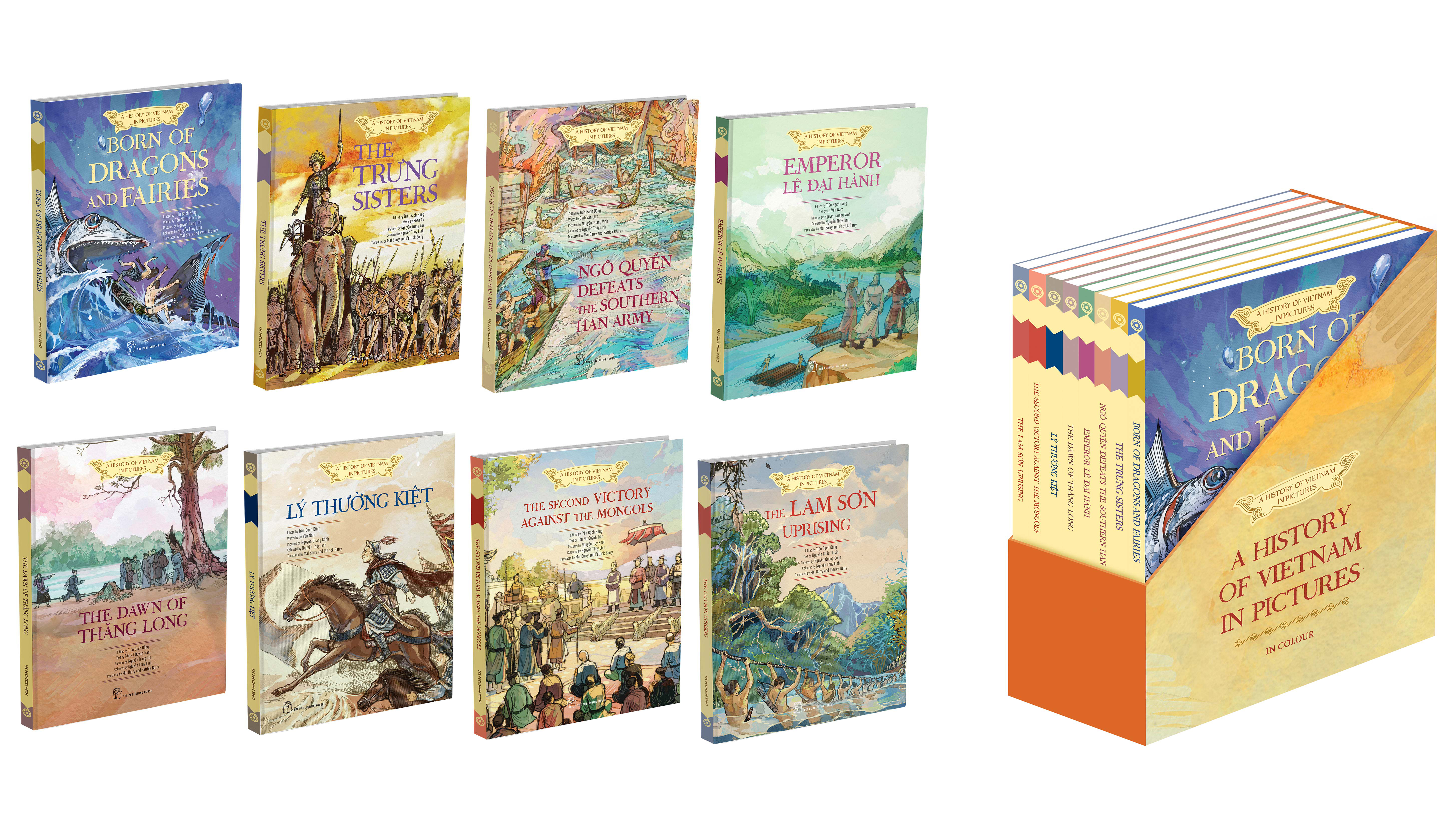 Publisher releases picture books on Vietnamese history in English